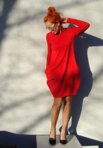 czerwona zaszewka